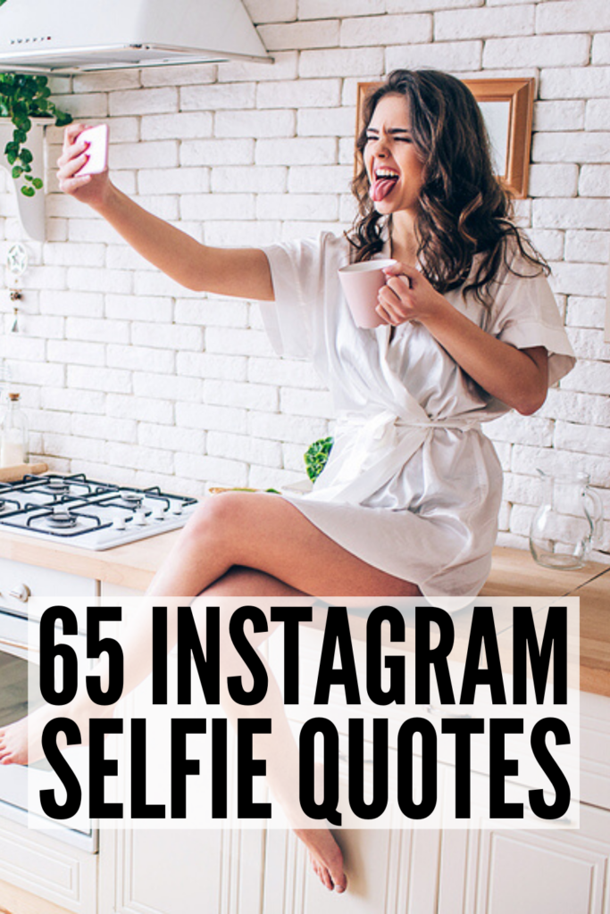 65 Best Quotes for Instagram Selfies | If you're looking for short quotes to add to your Instagram captions to get your feelings across in the most simple way possible, this post is for you! Whether you're trying to share happy and positive vibes, confidence and beauty, or you want to go deep and provide a little inspiration and motivation with a smile, these simple thoughts are equal parts classy and sassy, with a little funny thrown in for good measure! #instagramquotes #IGquotes #shortquotes