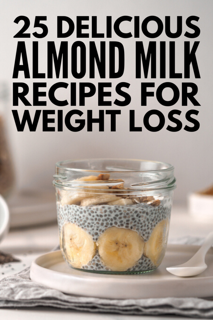 25 Almond Milk Recipes | Whether you're lactose intolerant, on the keto diet, or in search of healthy recipes for weight loss, we're teaching you how to make homemade almond milk as well as our favorite almond milk recipes! From a killer berry breakfast smoothie, to tons of baking dessert recipes, to delicious dinner recipes (zucchini mac and cheese, anyone?!), there are tons of delicious ways you can incorporate almond milk into your diet! #almondmilk #almondmilkrecipes #howtomakealmondmilk