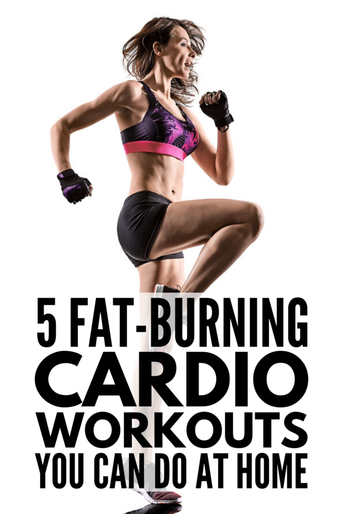 5 Cardio Workouts That Burn Fat | Whether you workout at the gym or at home, there are tons of fat burning workouts that will help you lose weight in less time without running on the treadmill or spending hours on the bike. Whether you're a beginner or just need ideas to switch up your exercise regime, we're sharing 5 of the best HIIT inspired workouts to give you a full body workout and results that last. Are you up for the challenge?! #cardioworkouts #fatburningworkouts #HIITworkouts