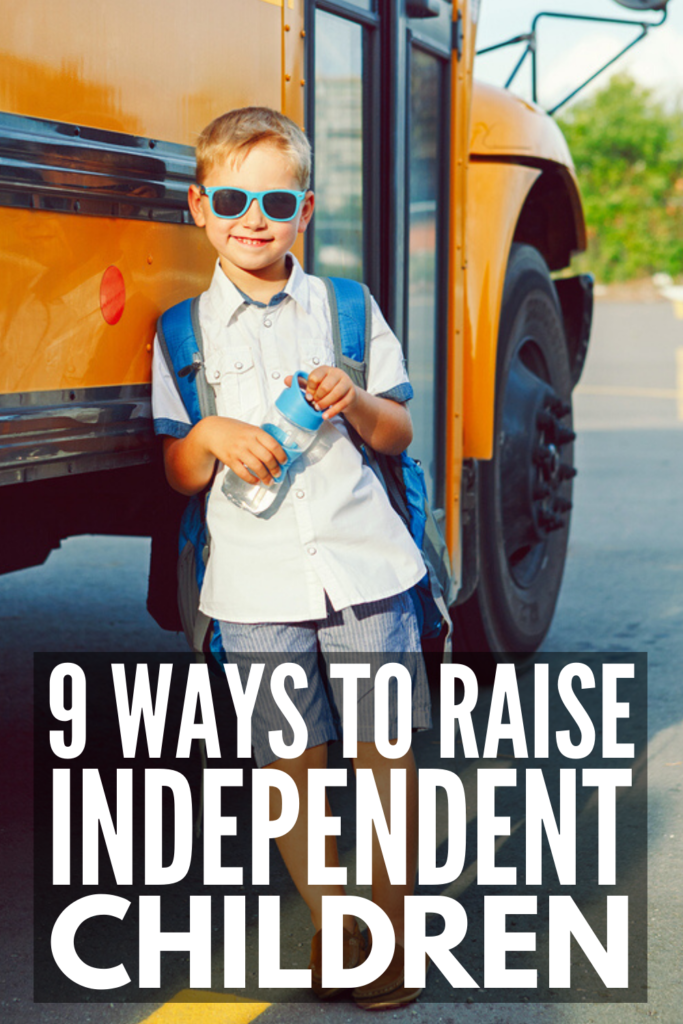 How to Raise Independent Children | If you want to know how to teach your kids responsibility without nagging, reminding, and power struggles, these positive parenting tips will inspire you. Whether you're raising toddlers or teens, girls or boys, these strategies and techniques will help you empower your child to take on new challenges and give them the tools and solutions they need to be successful along the way! #independentkids #choresforkids #parentingtips #positiveparenting