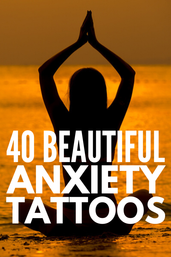 40 Anxiety Tattoos | If you're looking for meaningful tattoo ideas to raise mental health awareness and help you cope with the symptoms of anxiety, we've curated 40 beautiful designs to inspire you. Whether you're considering a semicolon tattoo, a 'breathe' or 'inhale exhale' tattoo, word tattoos like 'courage', 'fearless', and 'warrior', or mantras and quote tattoos, you can make each of these unique to you! Perfect for women and men, tattoo these on your wrist or forearm!