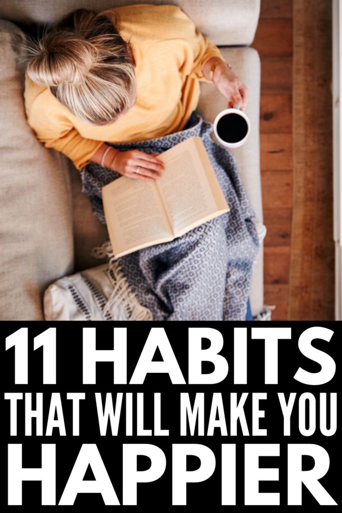 11 Positive Habits that Will Change Your Life | If you've ever wondered what the daily habits of successful people look like, this post has 11 ideas you can start TODAY to find happiness, joy, and success. From effective daily routines, to tips for finding your motivation, to productivity and time management hacks we swear by, the tips and strategies in this post will teach you how to be the best version of yourself in every single thing you do!