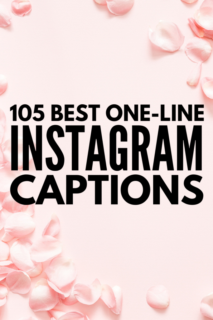 105 Best Short Quotes for Instagram Selfies and Captions | Whether you're trying to share motivational thoughts, workout inspiration, your sassy boss babe attitude, or just need cute and simple captions for beautiful pictures you share about your life, we've curated our favorite one-liners to inspire you! Some of these are clever and witty, while others are deep and personal - no matter what your mood is, we've got your covered! #selfiequotes #girlbossquotes #captionquotes