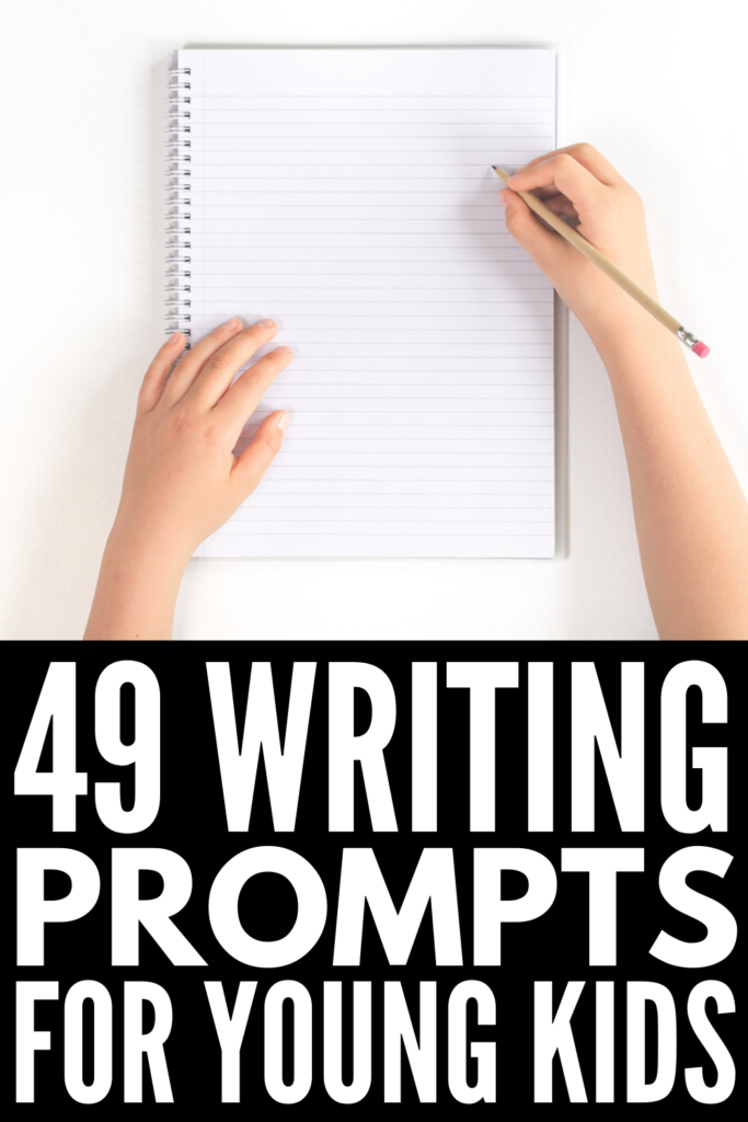 49 Story Starters for Kids | If you're looking for creative writing prompts for kids, we're sharing 49 classroom ideas and activities to inspire you! Perfect for kids in elementary and middle school, we've included a mix of different narrative ideas, including journal prompts, personal essay prompts, and fun fiction writing prompts. We've also included tips to get kids excited about writing, and how to keep the momentum going!