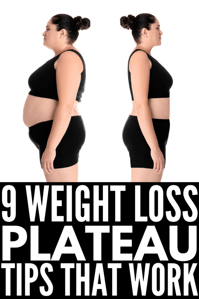 How to Get Over a Weight Loss Plateau | A new weight loss program such as a low carb keto diet usually produces great results at first. You may even lose 10 pounds in a week! But eventually, your weight loss will stall and it can be difficult to figure out what to do. If you're looking for weight loss tips to help you get back on track, we're sharing common reasons for a weight loss plateau and 9 weight loss hacks to help correct them!