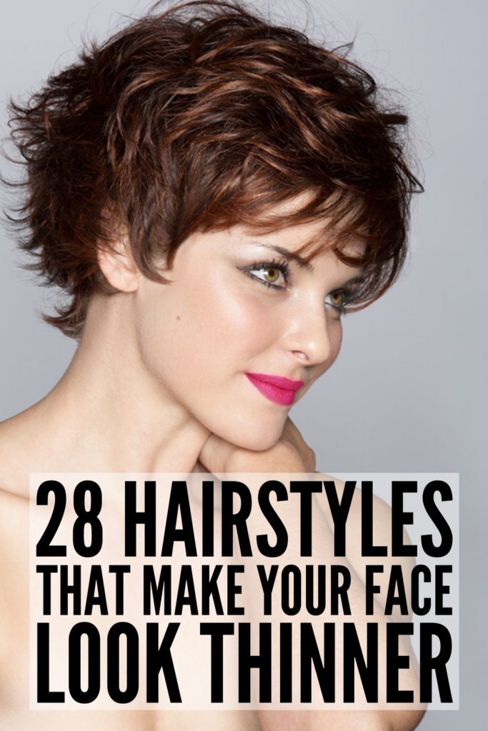 Hairstyles for Chubby Faces: 28 Slimming Haircuts and Tutorials