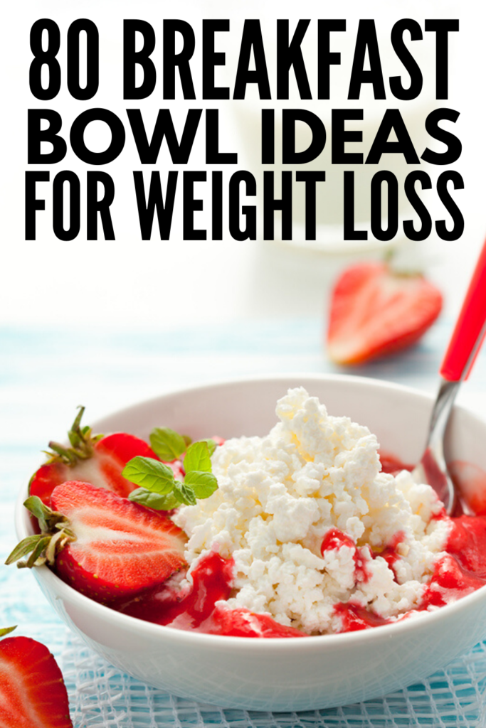 80 Make Ahead Breakfast Bowls | If you're looking for healthy make ahead breakfasts you can store in the fridge or freezer to help you out on busy mornings, these ideas will make meal prep a cinch! From low carb, keto friendly breakfasts, to egg inspired power bowls, to oatmeal bowls, to high protein breakfast bowls made with staples like eggs, Greek yogurt, cottage cheese, and quinoa, we've included a mix of sweet and savory options for every palette and dietary need!