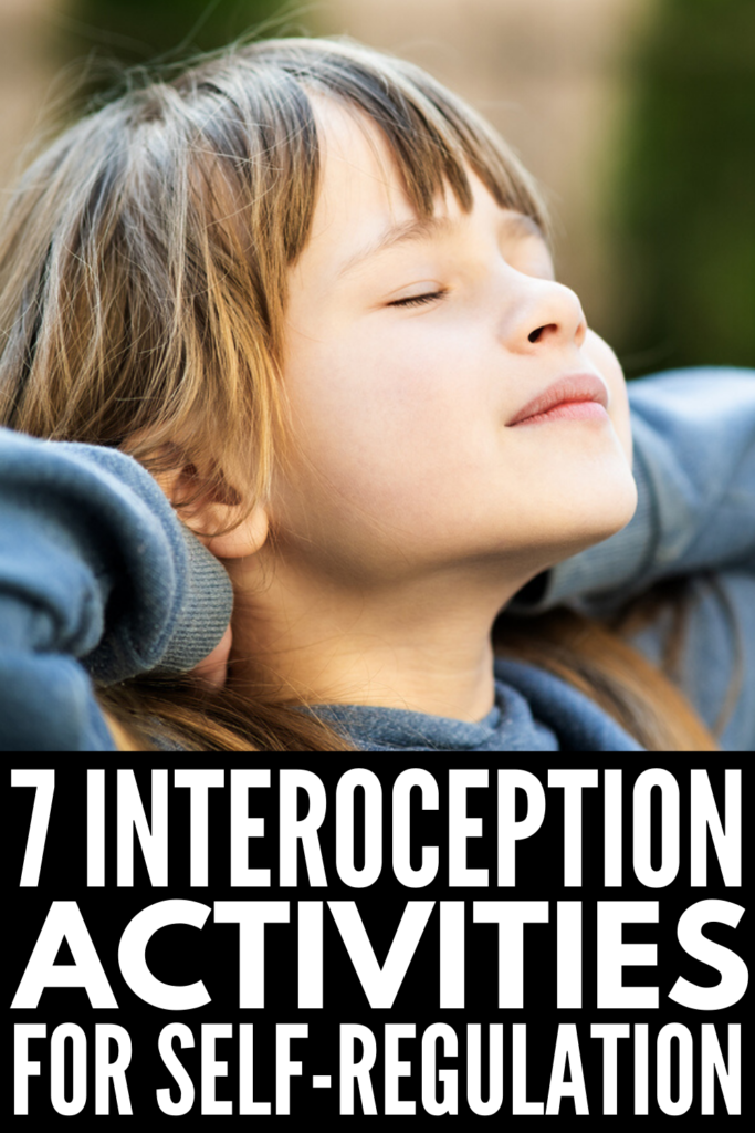 7 Interoception Activities for Kids | What is interoception? If you've ever wondered about the 8th sense and how it impacts kids with autism and sensory processing challenges, this post is a great place to start. With sensory activities and occupational therapy resources for teaching kids internal body awareness both in the classroom and at home, the ideas in this post will help you develop a sensory diet for increased self-regulation, problem-solving, flexibility, and social thinking skills!