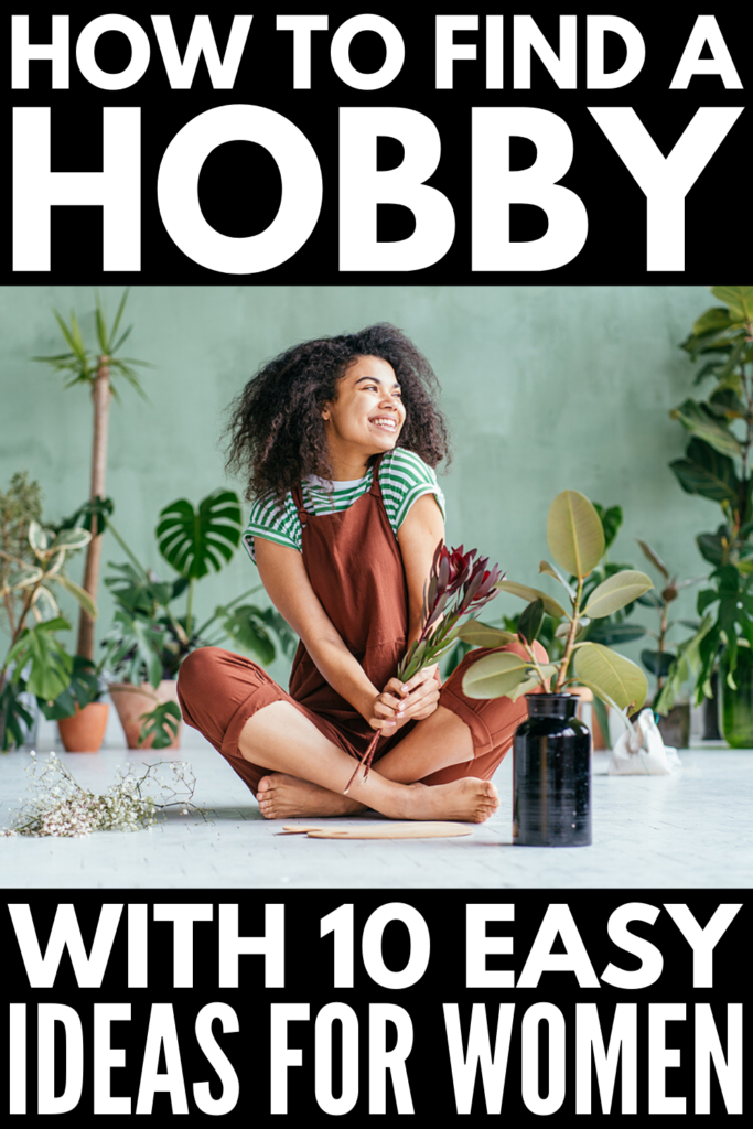 10 Hobby Ideas for Women | If you're trying to get into a new hobby at home, we're sharing 5 indoor hobbies and 5 outdoor hobbies to consider. From DIY art projects, like knitting, drawing, painting, and making crafts, to finding ways to make money online, to budget-friendly ways to improve your social life, these simple and creative ideas will give you the inspiration you need to find a way to reduce stress and decompress in the evenings and on weekends.