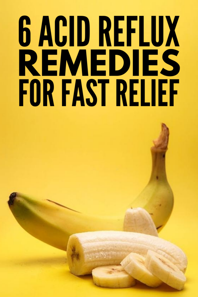 6 Natural Acid Reflux Remedies that Work | If you want to know how to get rid of acid reflux, these at home remedies will help! While they may not provide instant relief, they work quick and effectively - even at night. We're also sharing some background info - What is acid reflux? What are the symptoms? What are the causes? - along with tips on which foods to avoid, plus 15 acid reflux recipes to prevent and improve heartburn and indigestion.