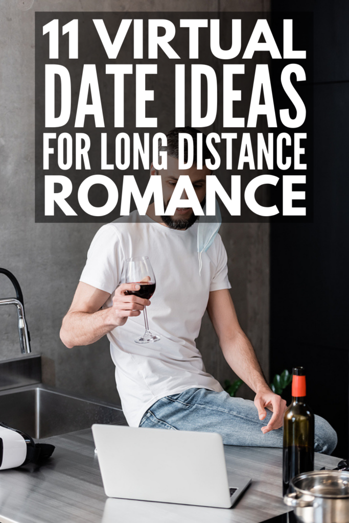 16 Virtual Date Ideas for Couples | Whether distance or quarantine (or both!) are keeping you and your significant other apart, this collection of online date night ideas is for you! These fun and creative date night in ideas are equal parts easy, cheap, and romantic. From cooking, to organizing an online game night, to virtual yoga, to planning your dream vacation, these simple at home date ideas will inspire you to keep the magic alive when you can't see each other in person!