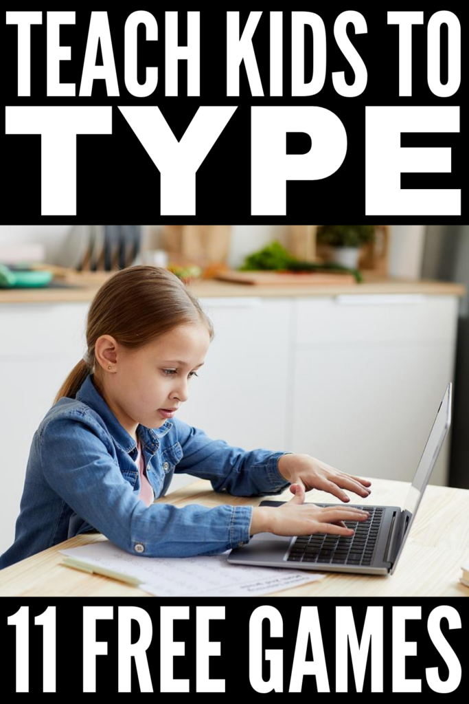 11 Typing Games and Apps for Kids | If you're looking for ways to make keyboard practice fun for your kids, this post is for you! Perfect for elementary school and for middle school, we've curated tons of free and paid ideas for students that can be used in the classroom and at home. Whether your child is a complete beginner, or you're looking for tips to increase his or her typing speed, these typing activities will help your kids learn to type the fun way!