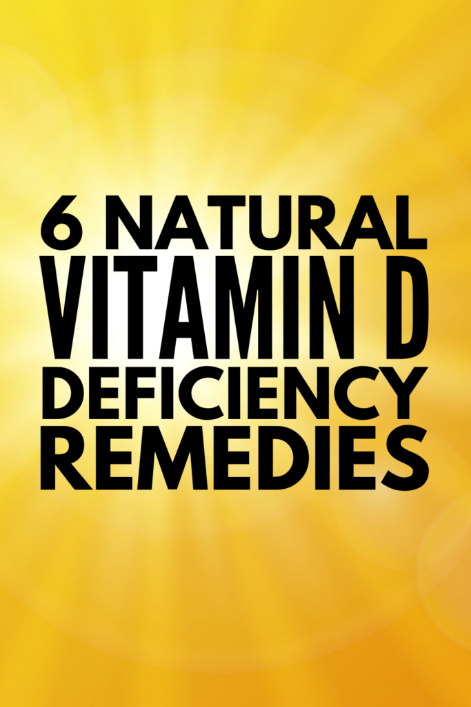 6 Vitamin D Deficiency Remedies | Do you suffer from a deficiency in Vitamin D? Do you know what the signs of a deficiency are? Did you know low levels of Vitamin D can cause weight gain and hair loss? This post has tons of useful information, including Vitamin D deficiency symptoms in women, in men, and in kids, common causes, the best remedies, and a list of Vitamin D rich food ideas and recipes to help boost your Vitamin D naturally!