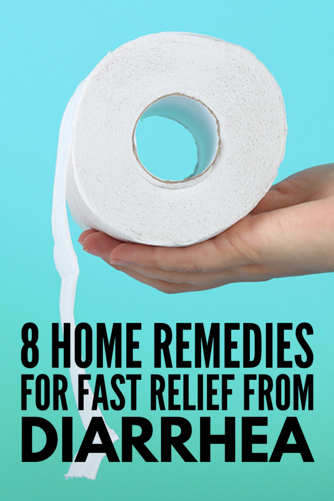 8 Natural Remedies for Diarrhea   If you're looking for diarrhea treatment ideas for toddlers, for kids, and/or for adults, this post is a great place to start! We're sharing common causes of diarrhea (did you know teething can be a cause?), what constitutes severe diarrhea and when to worry, as well as our best natural DIY remedies for fast relief. If you want to know how to get rid of diarrhea, this post has everything you need to know, including which food items to consume and avoid!