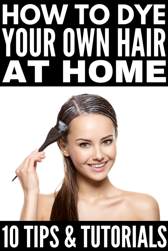How to Dye Your Own Hair | Trying to save money? Can't make it to the salon? Terrified of dyeing your own hair? Don't worry! This post has everything you need, from products and supplies, to hair dyeing tips and hacks, to step-by-step tutorials from hair pros! Whether you're bleaching your hair, touching up your blonde roots, going bold and brown, or getting creative with an ombre hair color, figuring out the best way to get the look you want is key. We're sharing all of this - and more!