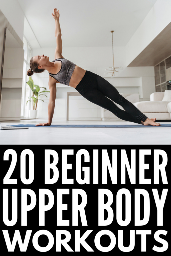 20 Upper Body Workouts for Women | If you're trying to get into a strength training routine and want to know how to tighten and tone your arms, shoulders, and back at home, we're sharing the best exercises to help! Whether you have a set of dumbbells, kettlebells, or resistance bands - or no equipment whatsoever - we've curated the best home workouts to help you burn fat and build muscle. Say goodbye to flabby arms and bat wings and commit to the challenge!