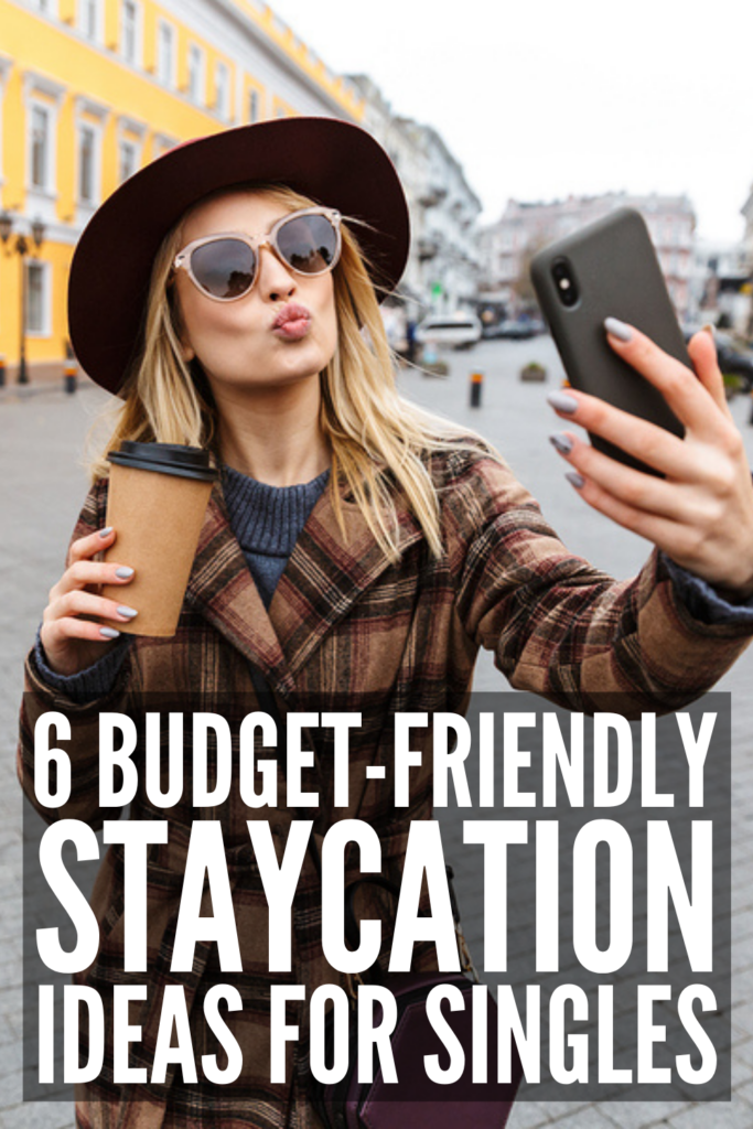 6 Staycation Ideas for Singles | If you're planning a staycation and on the hunt for a list of things to do to make the most of your time off, this post is for you! While you may have multiple bucket lists that involve traveling to different parts of the world, that doesn't mean you can't still have a fun and relaxing time while vacationing at home. Check out our list of staycation ideas for tips to get the most out of your time off from work or school so you can relax and recharge!