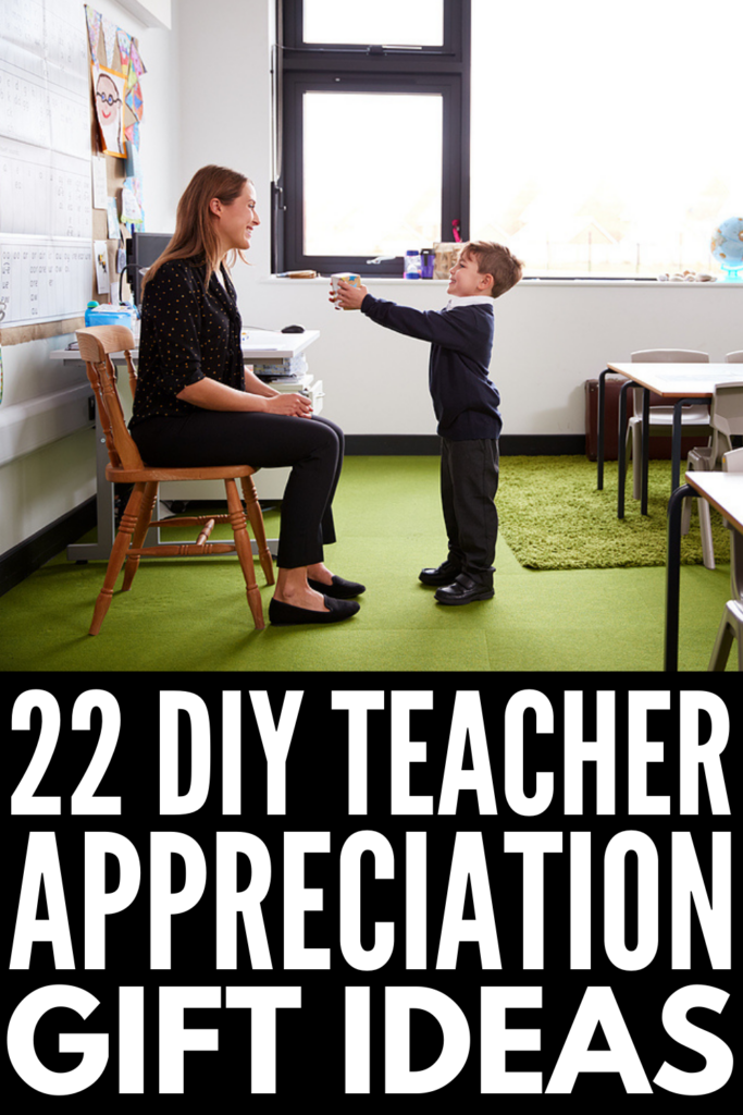 22 Teacher Appreciation Gifts Kids Can Make | If you're looking for inexpensive yet meaningful gifts from students for teachers and for staff to show how much you appreciate their time, effort, and dedication, homemade DIY crafts are always a good idea. Whether your child attends school in person or takes virtual classes, these simple and easy art projects are creative, unique, and thoughtful. You can drop them off for admin staff to hand out, and we've included ideas you can give virtually!