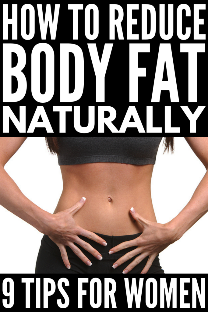 How to Reduce Body Fat | If you want to reduce your body fat percentage fast, this post is for you! We're sharing the best food, diet, and exercise tips and tricks for women to help decrease your body fat naturally. This post includes a body fat percentage chart for women and for men to help you gauge how much you need to lose, and you'll learn which foods to avoid, the best foods and snacks to help you feel full, and fat burning workouts to help you tighten and tone your body!