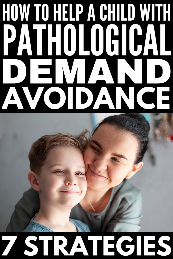 7 Pathological Demand Avoidance Strategies | What is PDA? Is it the same as autism? Is it the same as oppositional defiance disorder (ODD)? What are the signs and symptoms? If you're a parent or special education teacher of one or more children with pathological demand avoidance, this post is a great resource. It includes practical parenting and teaching strategies to help support kids at home and in the classroom.