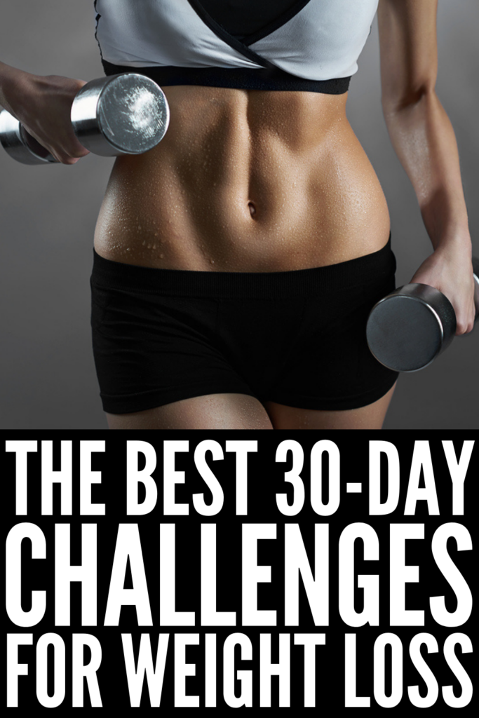 30-Day Fitness Challenges to Try This Year | Whether you're looking for 30-day full body workout challenges for beginners, or something more specific, like a 30-day arms challenge, 30-day abs challenge, or a 30-day squat challenge for women, this post has tons of ideas to inspire you! While many of us take on weight loss challenges at the beginning of the year, there's no time like the present, and you can start any of these 30-day challenge ideas right here, right now!