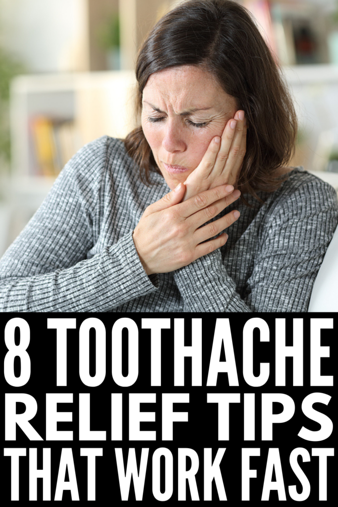 8 Quick Toothache Relief Tips | Need immediate relief from tooth pain? We've sharing the best DIY tips and homemade remedies that work fast and effectively. From essential oils to vanilla extract, baking soda to hydrogen peroxide, cinnamon to a warm salt water gargle, these natural toothache remedies work. We've included tips for adults and for kids, along with a list of causes and symptoms of tooth pain to help you feel better sooner!
