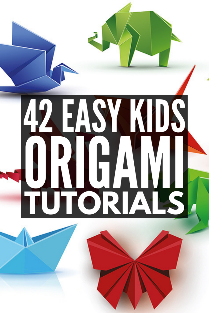 14 Easy Origami Tutorials for Kids | If you're looking for simple step by step origami for beginners, we've got you covered! From flowers, to stars, to hearts, to animals, to finger puppets, to holiday origami ideas and more, these origami videos are a fun way to craft with your kids. Origami offers a great way to develop a child's fine motor skills, and these art projects double as beautiful DIY gifts kids can make. Grab your origami paper and give some of these ideas a try!