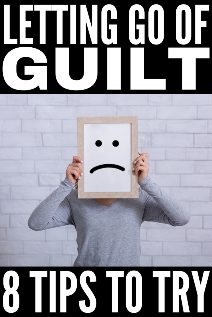 How to Stop Feeling Guilty | If you're looking for the best ways to stop feeling guilty about the past, for saying no, for setting boundaries, for breaking up with someone, for ending a friendship, or for something you said or did to someone you love, this post is just what you need! We're sharing XX simple tips to make dealing with guilt and feelings of regret in your relationships with yourself and others a little easier. Say goodbye to guilt trips and hello to a life of peace and happiness!