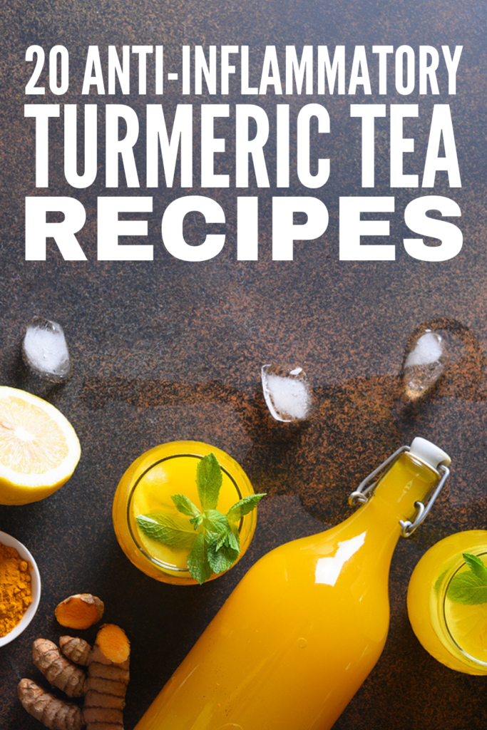 30 Turmeric Tea Benefits and Recipes | Adding turmeric tea to your morning routine offers lots of health benefits - it boosts your immune system, improves cardiovascular health, offers a tasty natural remedy for IBS and arthritis, and its antioxidant properties protect your body from free radicals. While the bold flavour of fresh brewed turmeric tea isn't for everyone, there are tons of turmeric recipes you can experiment with and we're sharing 20 of our fave homemade turmeric tea recipes!