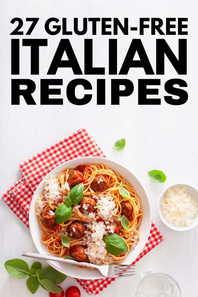 27 Gluten-Free Italian Recipes | Whether you have a gluten intolerance or full-blown celiac disease, it doesn't mean you need to give up your favorite Italian foods! This post has everything you need to satisfy your cravings, including resources to teach you how to make gluten-free pasta and tons of delicious Italian-inspired gluten-free recipes. From lasagna, calzones, and Italian meatballs, to tortellini, gnocchi, and ravioli, to panna cotta, tiramisu, and cannoli, these recipes are delish!