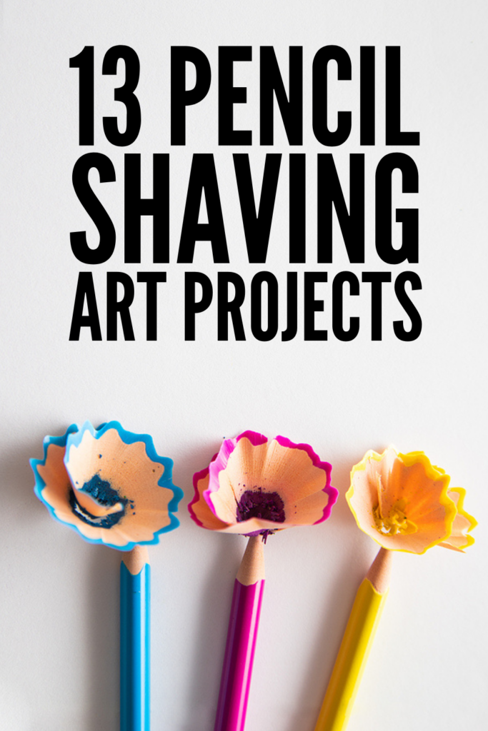 13 Pencil Shaving Art Projects | If you're looking for craft ideas you can do on your own or with kids, pencil shaving art is perfect for both beginner and advanced artists. Recycled crafts are cheap and fit for any budget, and many of these can be turned into greeting cards and homemade gifts for family and friends. And if drawing isn't one of your skills, you can use printable coloring pages! From flowers and fish, to peacocks and a dancing princesses, these upcycling art ideas are beautiful!