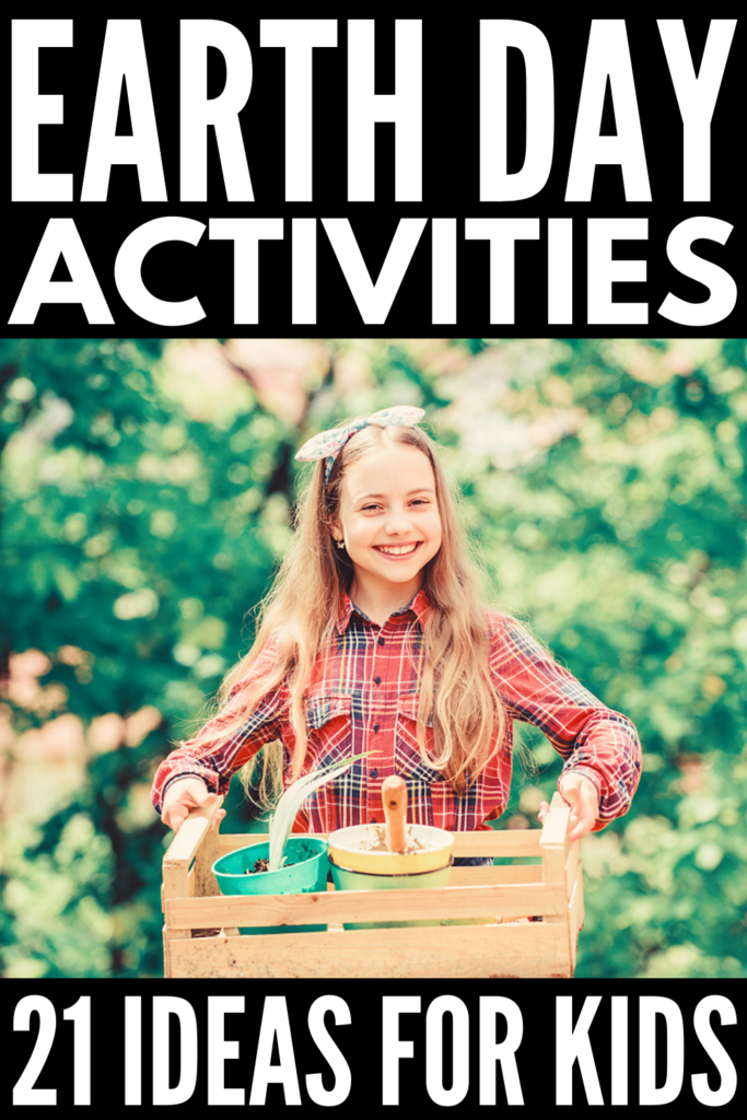 21 Earth Day Activities and Crafts for Kids | Perfect for toddlers, for preschoolers, for kindergarten, and for kids in elementary and middle school, we've curated tons of easy Earth Day projects you can enjoy with your kids and students both at home and in the classroom. With a mix of art projects, crafts, science experiments, and outdoor activities, these ideas make teaching kids about climate change, global warming, and environmental protection fun and interesting!