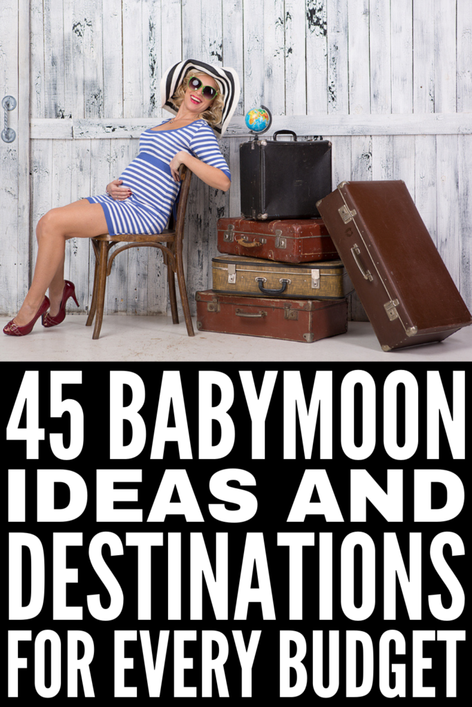 45 Babymoon Ideas For Soon-To-Be Parents | If you're looking for a list of the best babymoon destinations and staycations, this post is for you! From inexpensive weekend getaways, to simple beach vacations, to romantic winter spots that don't require you to ski, to extravagant international babymoon ideas, to a list of things you can do at home to help you spend quality time with your partner, this post has a mix of cheap and affordable ideas and lavish, once-in-a-lifetime destinations.