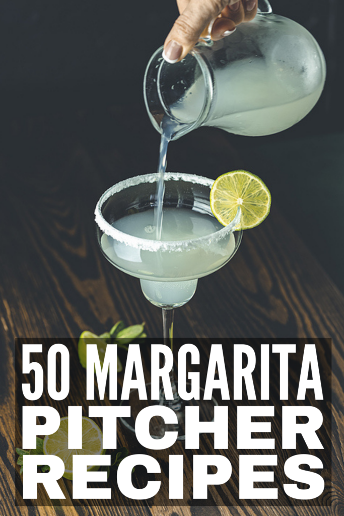 50 Margarita Pitcher Recipes   Perfect for parties, BBQs, or a night in with your SO, this collection of margarita recipes has something for everyone. Whether you prefer a classic margarita (we included a skinny option!), or want to experiment with bold, refreshing flavors like watermelon, mango, strawberry, pineapple, or cranberry, you're sure to find the perfect recipe in this post! You can enjoy these on the rocks or frozen, and they are so simple and easy to make!