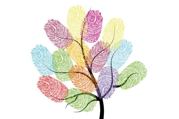 15 Finger Print Art Projects For Kids | If you're on the hunt for easy crafts for kids of all ages, these fingerprint art ideas will inspire you! Whether you're crafting with toddlers or looking for homemade gifts kids can make, these easy kids activities will not disappoint. From thumbprint dandelions, to alphabet art, to flowers and butterflies, to autumn trees and more, this list of fingerprint crafts for kids has something for every age and stage.