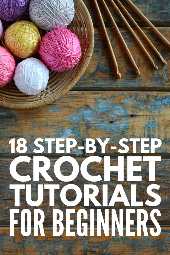 18 Step-By-Step Crochet Tutorials For Beginners | If you're looking for beginner crochet projects, this post is for you! We're sharing everything you need to get started, including crochet essentials and step-by-step video tutorials to teach you how to make simple items like blankets, scarves, and baskets, as well as simple animal patterns. Learning how to crochet is easy with these crochet projects, and we've included ideas for kids to boot!