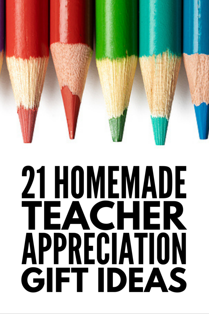 21 Teacher Appreciation Week Gifts | If you're looking for a list of creative and meaningful ways to express your gratitude to an extra special teacher, this post has lots of fantastic ideas! Whether you're looking for DIY cards in which your child can write a message for their teacher, or a list of gifts kids can make themselves, we've got lots of crafts and activities to choose from. And if your child is learning remotely, we've included virtual teacher appreciation gift ideas as well!