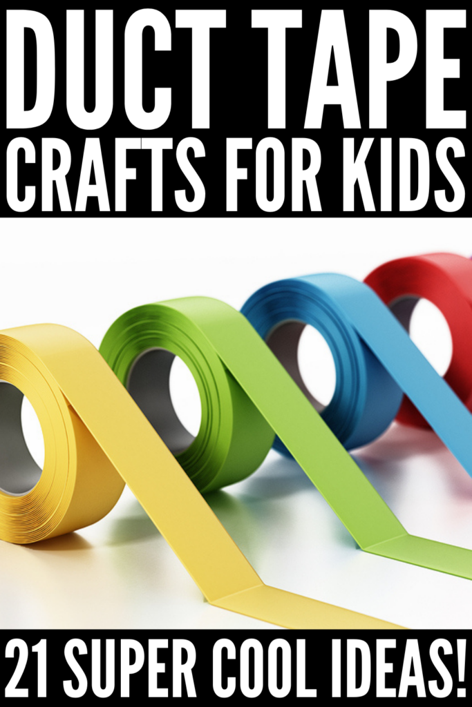 21 Duct Tape Crafts for Kids | From simple bookmarks and lanyards, to arm bands, bracelets, and belts, to hair bows and headbands, to wallets, purses, iPhone cases, and iPad covers, these duck tape crafts for kids are the perfect mix of cute, fun, and cool! If you're looking for easy DIY crafts kids can make, these easy creative ideas will not disappoint! These step by step instructions and tutorials will teach your kids how to make awesome things to give as gifts - and to sell - in minutes!