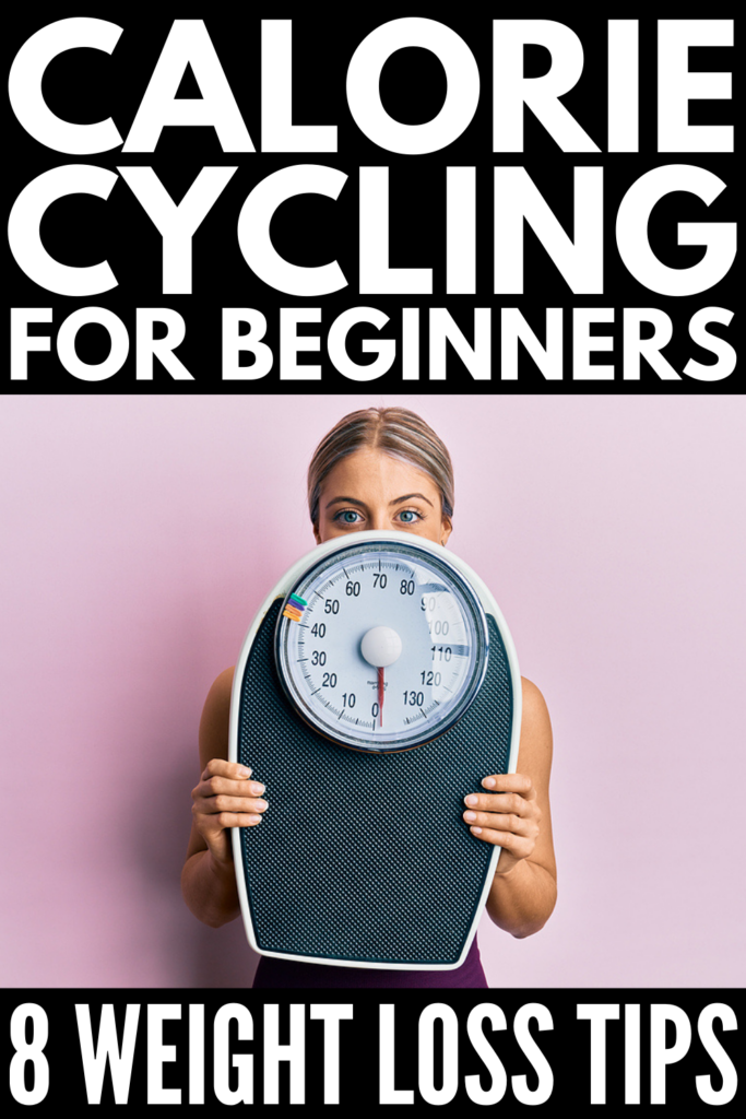 Calorie Cycling for Weight Loss | Carb cycling vs calorie cycling - what is best? If you want to lose weight, build muscle, and burn fat, but don't love following strict diets and eating plans, calorie cycling may be just what you need! We're giving you the 411 on the calorie cycling diet for women, including 3 different plan ideas to consider, ideas on how to get started, tips for fat loss and weight loss, and everything you need to create a calorie cycling meal plan that works for you!