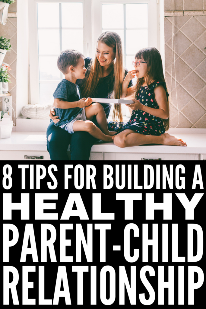How to Build a Healthy Parent Child Relationship   If you're looking for tips and activities to help improve your relationship with your son and/or daughter, this post has lots of great ideas to help. From learning how to spend quality time with your kids, to improving communication and reducing power struggles, to enforcing logical consequences and teaching your kids independence, these tips have the added benefit of teaching kids self-regulation and improving social skills!