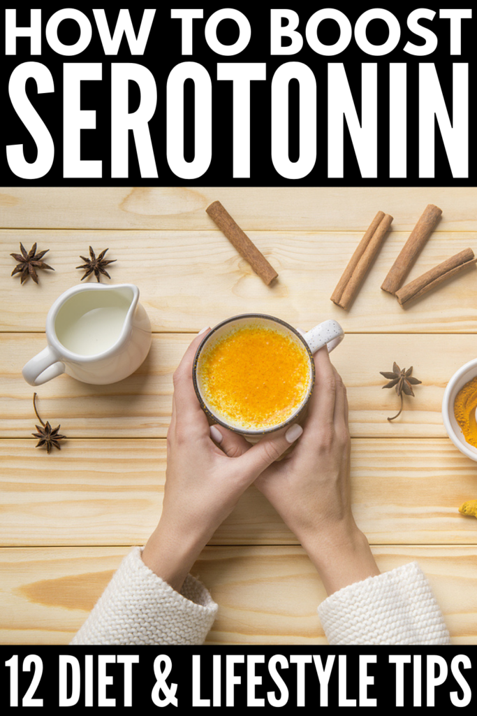 How to Boost Serotonin Levels Naturally | If you're looking for natural ways to increase your serotonin, this post is for you! From supplements to essential oils to vitamins to diet and more, there are many ways to give your serotonin a boost. This post has tons of helpful info - What is serotonin? What are the symptoms of serotonin deficiency? What are the causes and risk factors? - as well as a list of foods that boost serotonin fast and lifestyle changes that actually work!