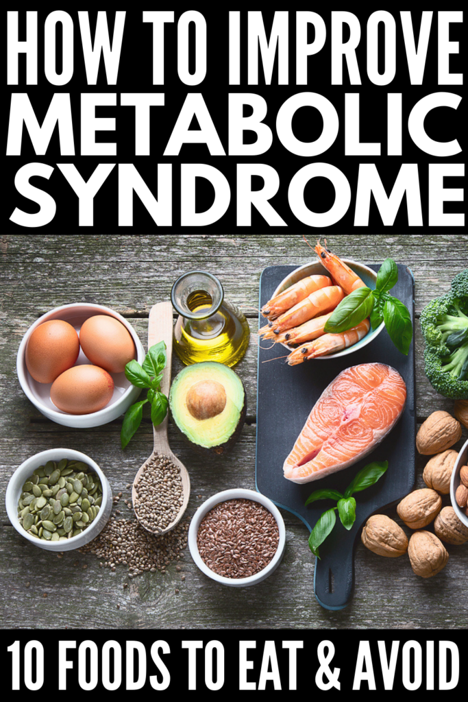 15 Lifestyle and Diet Tips to Improve Metabolic Syndrome | What is metabolic syndrome? Are there symptoms? What are the treatment options? What is the best diet to follow if you have it? These are all great questions, and while there is no diet plan or exercise plan designed specifically to reverse metabolic syndrome, there are lifestyle changes you can make and a list of foods you should and should not eat to help. If you want to know how to cure metabolic syndrome, give this a read!