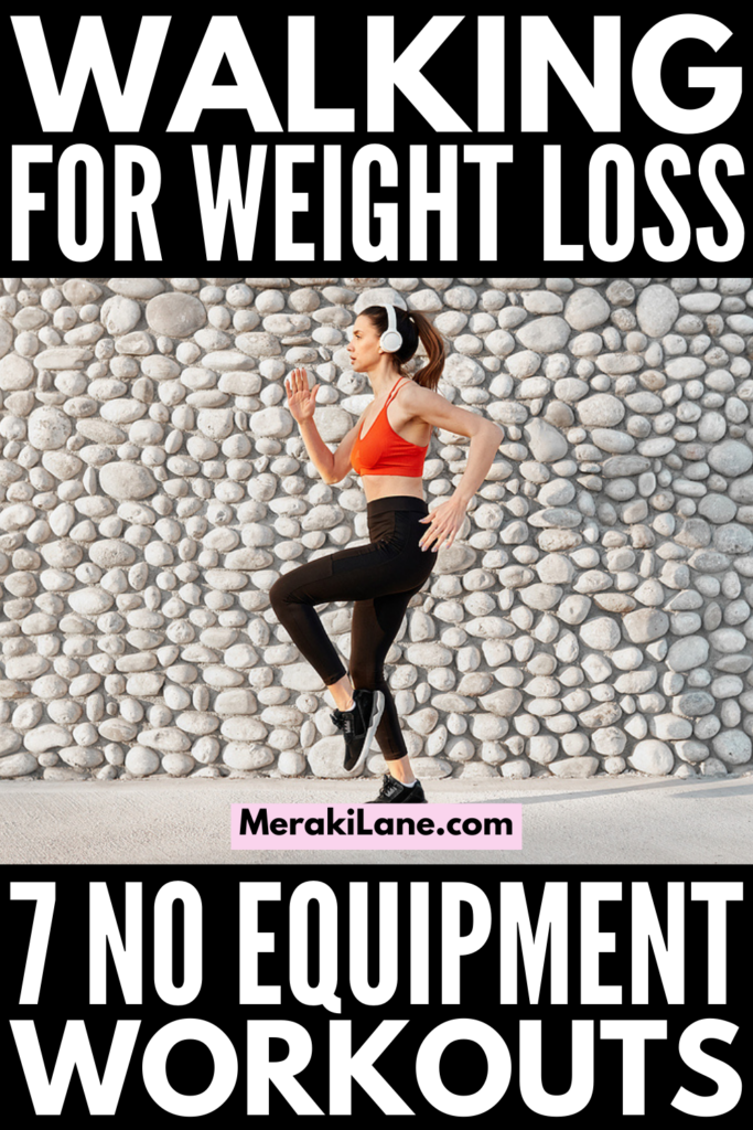 7 Walking Workouts for Weight Loss | If you want to create a walking workout plan for weight loss, this post has lots of tips and workouts to choose from ranging from 10 minutes, 20 minutes, 30 minutes...all the way to an hour! You can make these as easy or hard as you want. Whether you like to workout at the gym, at home, outside, or a combination of the 3, we'll help you get your steps and miles in each day!