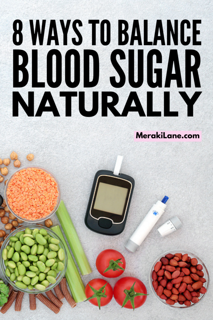 How to Balance Blood Sugar Naturally   If you want to know how to lower blood sugar levels through lifestyle changes and diet, this post has lots of great tips to help. We're sharing tons of great information - symptoms of both low blood sugar and high blood sugar, smart tips to lower and control blood sugar, and a list of foods to lower blood sugar plus diet foods to avoid. Whether you have diabetes, hyperglycaemia, or hypoglycaemia, these natural ways to balance blood sugar will help!