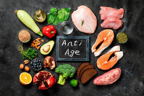 16 Best Anti-Aging Foods to Help You Look Younger | If you want to look younger, you need to do more than just apply anti-aging products to your skin. You are what you eat, and there are tons of good-for-you superfoods that can help prevent wrinkles and fine lines while also hydrating your skin and fighting free radicals. This post has a list of the top 16 foods to consume. You can eat many of these on their own, or add them to your favorite recipes, including smoothies and salads!