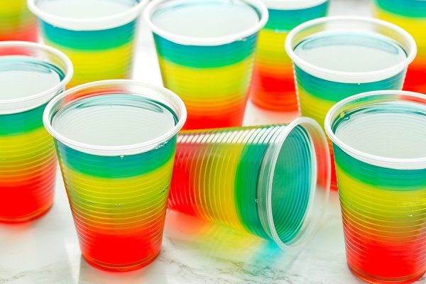 50 Easy Jello Shot Recipes | Jello shots are great for parties and celebrations, and they are so easy to make. They may remind you of your college years, but they've received a serious glow up in recent years, with tons of delicious recipes to choose from. While you may still prefer basic vodka jello shots, there are so many other ideas to choose from, and we've rounded up the best of the best! From tequila, to peach schnapps, to champagne, to Malibu rum and more, these recipes are delish!