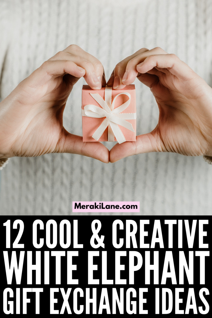 12 Cool White Elephant Gift Exchange Ideas   If you're looking for good white elephant gift ideas for work or for an exchange with family or friends, this post has tons of ideas to help! This list of gender neutral / unisex ideas includes practical, useful, and creative gifts that can be used at the office or at home. Perfect for women and for men, these ideas are cheap AND classy, and sure to please even the toughest person in your Secret Santa gift exchange!