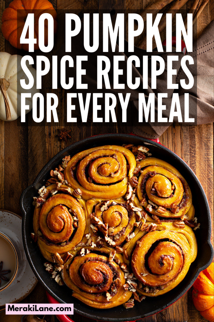 40 Healthy Pumpkin Spice Recipes   If you want to know how to make your own DIY pumpkin spice and/or want some new and exciting recipes to try that go above and beyond your beloved pumpkin spice latte, this post is for you! From coffee and hot chocolate, to smoothies and pancakes, to oatmeal cups and pumpkin bread, to cookies, cakes, cupcakes, muffins, pies, and more there are so many ways you can enjoy pumpkin spice. These recipes are simple and delicious!