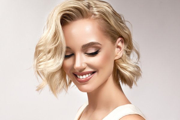 How to Style Short Hair   Whether you have straight, wavy, or curly hair, this post will teach you how to style short hair like a pro. From the best drugstore hair products for short hair, to must-know styling tips and techniques, to 5 step-by-step hair tutorials, you'll learn everything you need to know to keep your short hair stylish. From sexy beach waves, to a super easy crown braid, to a low bun, to cute and easy half up half down styles, this post doesn't disappoint!