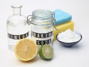 11 Homemade Household Products | Natural living meets saving money with this collection of DIY cleaning products, cleanses, and stain removers using ingredients you probably already have on hand. Learn how to cut through grease and make your home shine using simple products like baking soda, white vinegar, hydrogen peroxide, rubbing alcohol, and water. These household cleaners are equal parts awesome and effective! #naturalhousehold #naturalhouseholdproducts #naturalliving